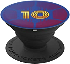 Soccer Ball Pop Socket Barcelona Colors 10 Boys Futbol Teams - PopSockets Grip and Stand for Phones and Tablets