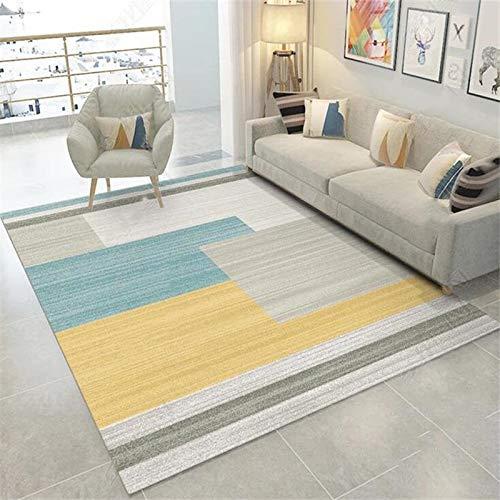 XTUK Carpet Home Decoration Rug Quality Handcarved Rug Geometric Design Multi Coloured Rug In Various Sizes Carpet Doormat Room Non Slip Carpet dining rooms family rooms 60 * 90cm