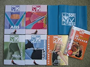 Winsor Pilates Super Pack (Accelerated Body Sculpting, Bun & Thigh Sculpting, Maximum Burn Basics & Fat Burning with Cookbook and Exercise Planner, Power Sculpting and Power Sculpting ABS with Resistance Band Included)