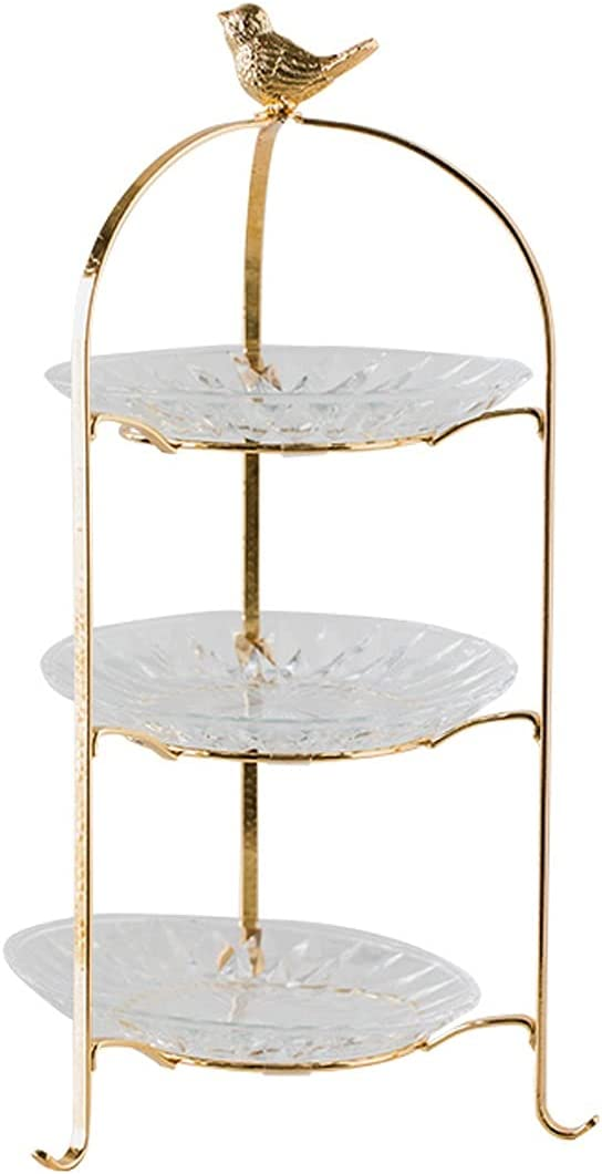 Cupcake Holder Price reduction Three-layer Directly managed store Light Luxury Multi Display Cake Stand