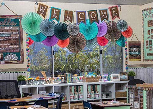 Home Sweet Classroom Pennants Welcome Bulletin Board Photo #4