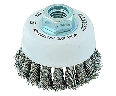 8-11 ST Knot Cup Brush 13W312