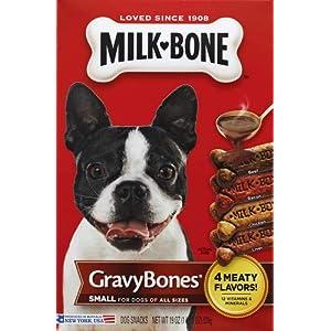 Milk- Bone Dog Treats, Gravy Bones, 1 Lb