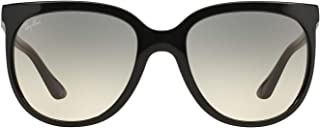 Ray-Ban Cats 1000 Cateye Sunglasses in Black RB4126 601/32 57