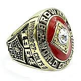 Wibbosad Herren Antiquität Rostfreier Stahl 1964 Cleveland Welt Champion Ringe,Größe 57 (18.1)