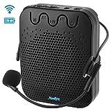 Moukey Va-1 Mini amplificatore vocale ricaricabile portatile con microfono e cuffia cablata Supporto...