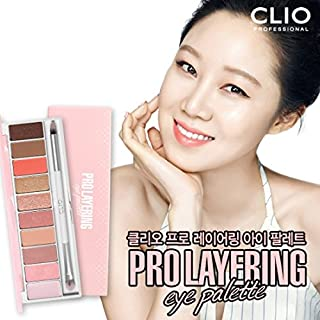 Clio Pro Layering Eye Palette #3 Softish (Pink Coral Variation)