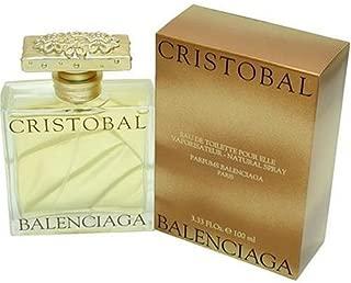Cristobal By Balenciaga For Women. Eau De Toilette Spray 3.3 Oz.