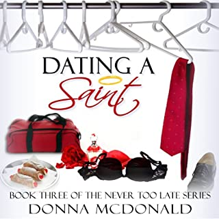 Dating a Saint audiobook cover art