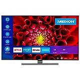 MEDION S15506 138,8 cm (55 Zoll) UHD Fernseher (Smart-TV, 4k Ultra HD, HDR Dolby Vision, Netflix,...