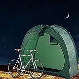 屋外のキャンプのために、窓のデザインで、テントをキャンプ、アウトドア自転車テント自転車保管小屋自転車保管小屋をオーニング