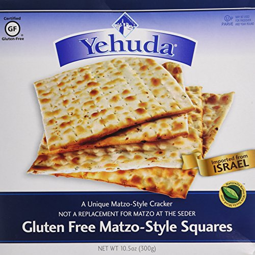 Yehuda Matzo Matzo Squares Gluten-Free 10.5 oz. (Pack of 2)
