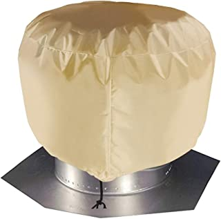 Vent Cover, Durable & Lightweight Roof Ventilator Cover, Turbine Roof Cover, Universal Turbine Vent Cover