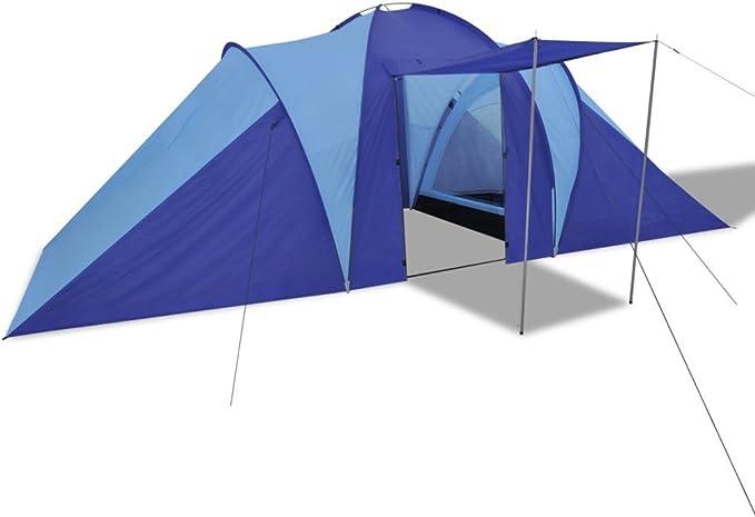 Festnight Tienda Familiar Tienda De Campaña Desplegable para Camping (tienda para 6 Personas) Color Opcional