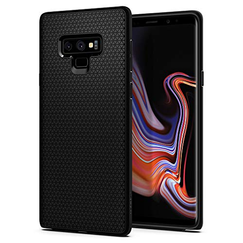 Spigen Funda Liquid Air Compatible con Samsung Galaxy Note 9 - Negro Mate