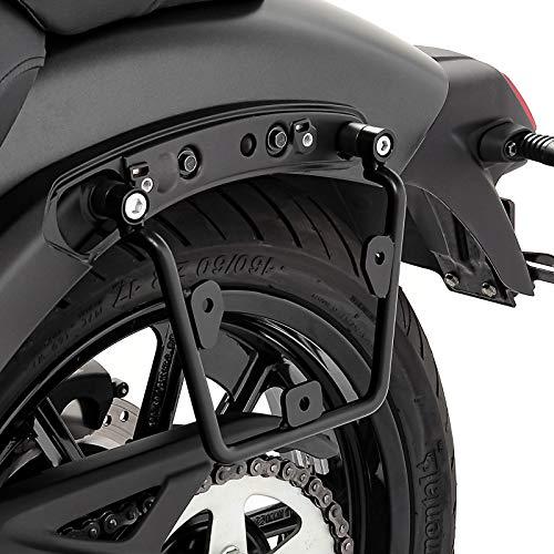Soporte de alforjas Compatible para Kawasaki Vulcan S/Café 15-20 Izquierda de Maletas Laterales