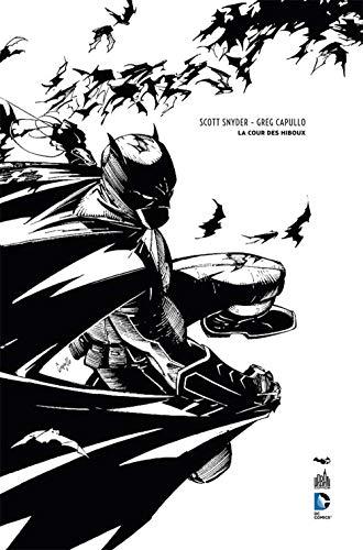 BATMAN LA COUR DES HIBOUX - N&B - 75 ANS