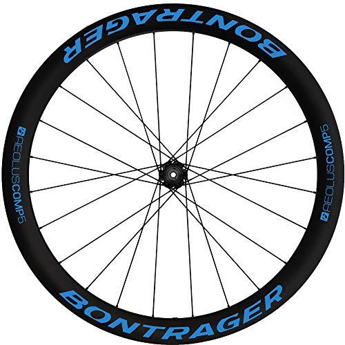 Pegatinas Llantas Bicicleta BONTRAGER Aeolus Comp 5 WH63 Azul 517
