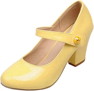 JOJONUNU Women Mary Jane Pumps Shoes
