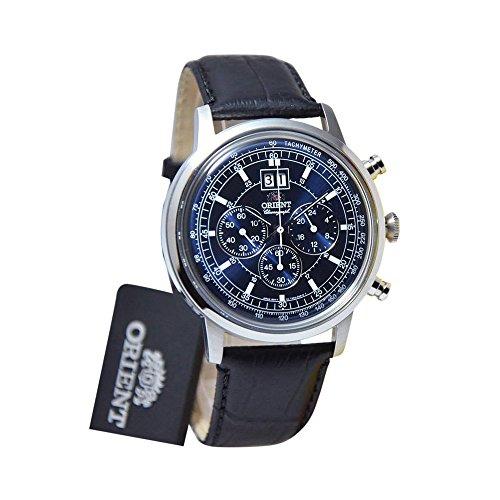 Orient FTV02003D0 - Reloj de pulsera analógico de piel y cuarzo