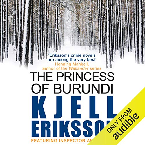 The Princess of Burundi audiobook cover art