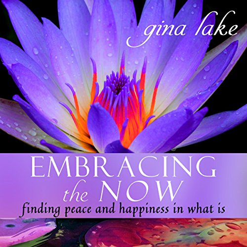 Embracing the Now audiobook cover art