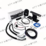 SMT-Oil Cooler Fan Cooling System Compatible With Harley Touring 2009-2016 Chrome [B0753BGF96]