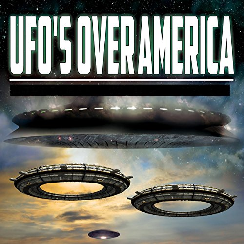 UFOs over America  By  cover art