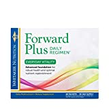 Dr. Whitaker's Forward Plus Daily Regimen - Comprehensive Multivitamin Supplement Supports Optimal Energy, Strength, Vitality, and Stamina - 60 Packets (30-Day Supply)