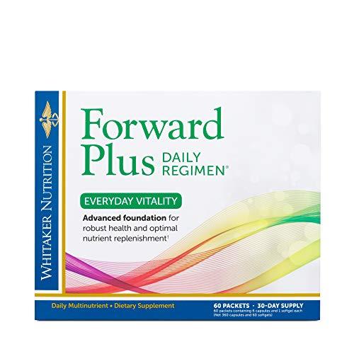 Dr. Whitaker's Forward Plus Daily Regimen - Comprehensive Multivitamin...