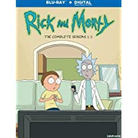 Rick and Morty: S1-3 (BD+Digital)