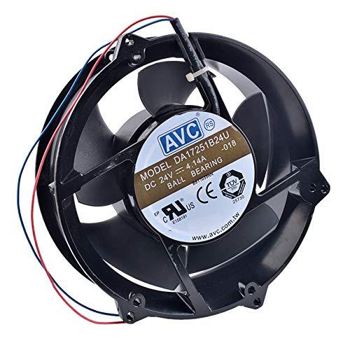Cabinet Metal Cooling Fan DA17251B24U Ranking TOP8 172x172x51mm 17251 Rapid rise 170mm 2