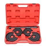 Parts-Diyer 5PCS Spring Compressor Set Replacement for Mercedes Benz W116 W123 W124 W126 W202 Telescopic Repair Tool Kit