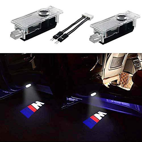 2PCS Car Door LED Light Projector Ghost Shadow Lights Welcome Light Laser Door Logo Lights Car Projection