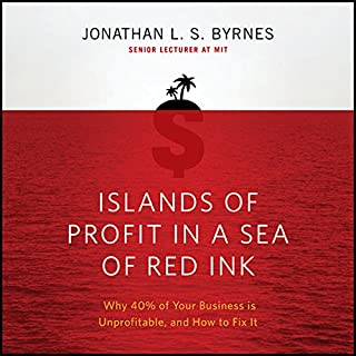 Islands of Profit in a Sea of Red Ink     Why 40% of Your Business is Unprofitable, and How to Fix It              Written by:                                                                                                                                 Jonathan L. S. Byrnes                               Narrated by:                                                                                                                                 Erik Synnestvedt                      Length: 9 hrs and 13 mins     Not rated yet     Overall 0.0