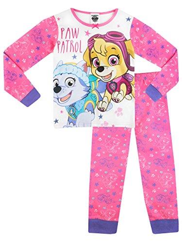 PAW PATROL Mädchen Schlafanzug 110cm