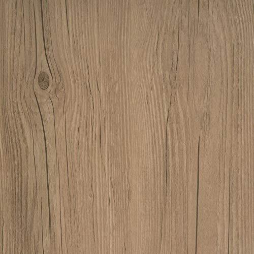 d-c-floor - Selbstklebende Bodenfliesen - Probemuster - 1/2 Fliesenaufkleber, Dark Oak