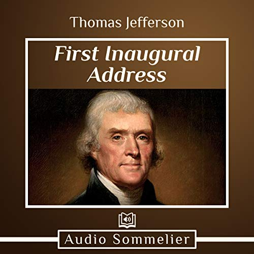 First Inaugural Address audiobook cover art