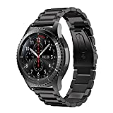 MroTech Compatible pour Samsung Gear S3 Frontier/Classic/Galaxy Watch 46mm Bracelet...