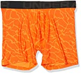 Under Armour Men's Tech 6' Novelty-1 Pack, Ultra Orange (856)/Jet Gray, Large
