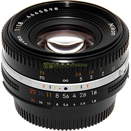 Obiettivo Nikon AI-s 50 mm f1,8 per fotocamere reflex a pellicola e digital