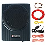 10 Inch 600W Car Under-Seat Sub Woofer Active Powered Amplifier Bass Enclosed