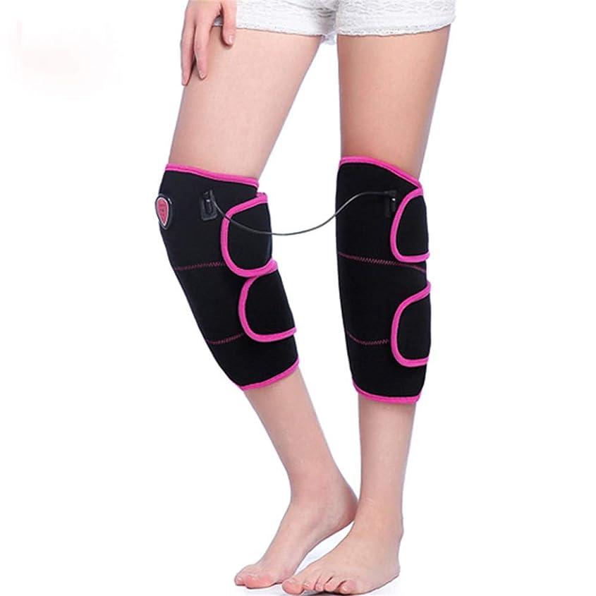 劣る光の通り膝電熱膝ブレース3可変温度振動温水膝ラップ、膝理学療法のための痛みを軽減します (色 : ブラック, サイズ : Free size)