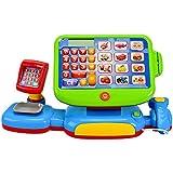 """Kinder Spiel Kasse mit """"Touch Display """" inkl.Spielgeld Kaufmannsladen Sound Kaufladen mit viel Zubehör"""