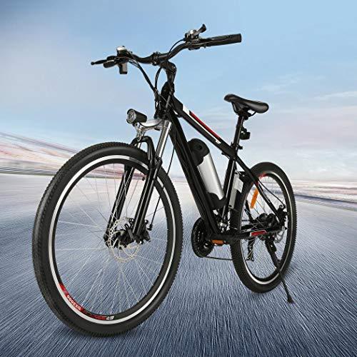 אופני הרים חשמליים 26 אינץ 'Kemanner 21 מהירות 36V 8A סוללת ליתיום אופניים חשמליים למבוגרים