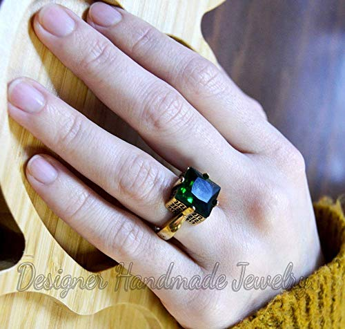 vintage ring,jewwelry,ring handmade ring Natural Green stone ring silver jewelry handmade jewelry silver ring gemstone ring boho ring