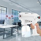 TTLIFE Steam Spray Gun Pulverizador inalámbrico Electric Máquina de desinfección por pulverizador Adecuado para desinfección, humidificación y Limpieza para automóviles,hospitales, escuelas 500ml