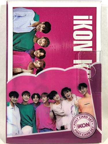 iKON アイコン グッズ / プラケース入り ポストカード 16枚セット - Post Card 16sheets (is included in a Plastic Case) [TradePlace K-POP 韓国製]