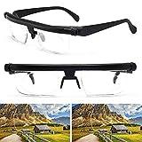 Brille,Verstellbare Brille Dial Vision Zoomobjektiv Variabler Fokus für Fernablesung
