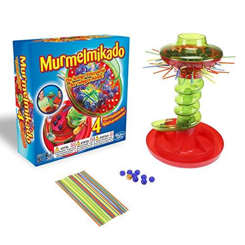 Hasbro Spiele Murmelmikado, spannungsgeladene Geschicklichkeitsspiel für Kinder ab 5 Jahren